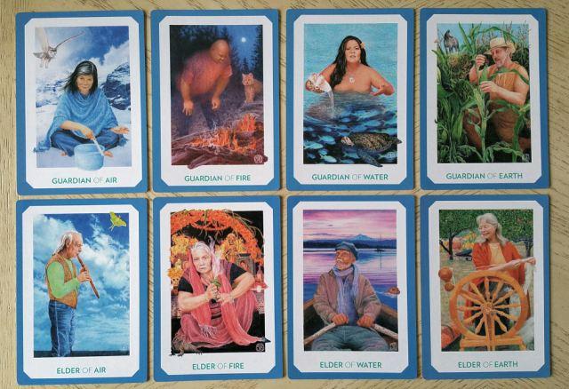 Gaian Tarot 22 Courts 2