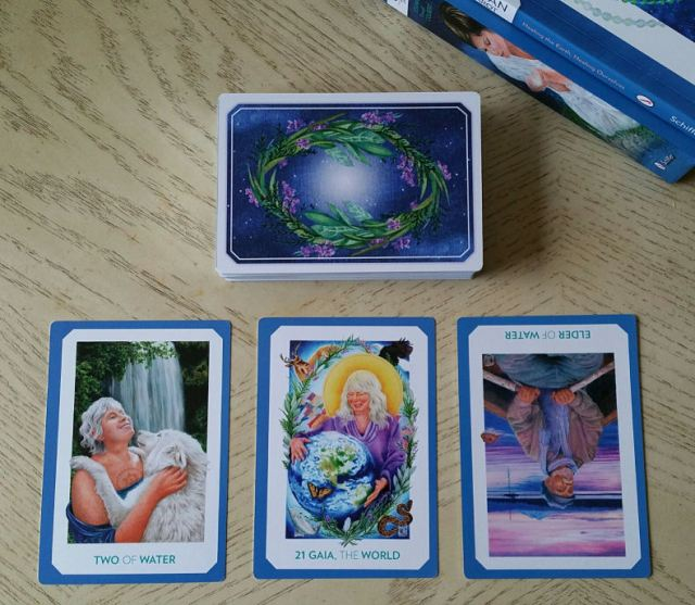 Gaian Tarot 25 Three Card Reading