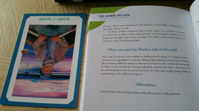 Gaian Tarot 30 Right Card Reading Contd