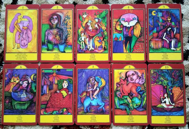 Gypsy Palace Tarot 09 Cups