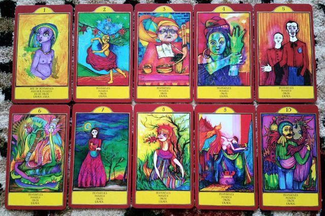 Gypsy Palace Tarot 10 Pentacles