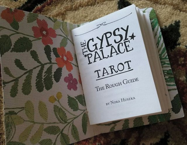 Gypsy Palace Tarot 12 Guidebook