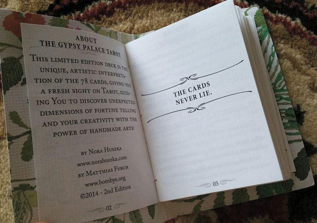 Gypsy Palace Tarot 13 Guidebook