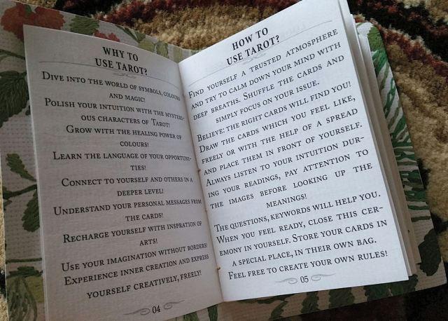 Gypsy Palace Tarot 14 Guidebook