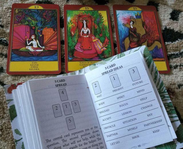Gypsy Palace Tarot 17 Three Card Spread