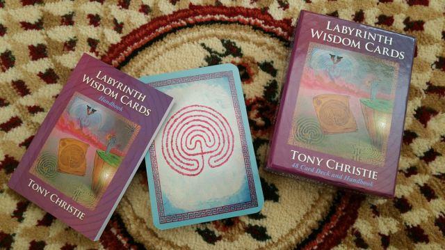 Labryinth Wisdom Cards 01 Box Set
