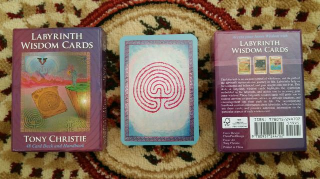 Labryinth Wisdom Cards 03 Card Backs