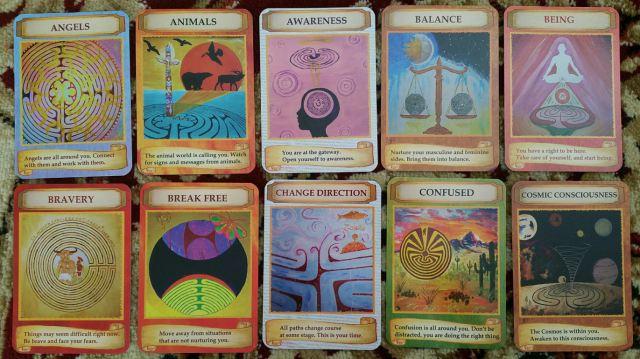 Labryinth Wisdom Cards 04 Cards