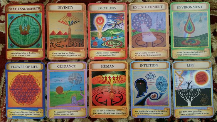 Labryinth Wisdom Cards 05 Cards