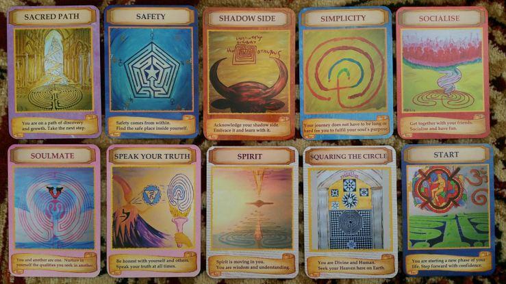 Labryinth Wisdom Cards 07 Cards