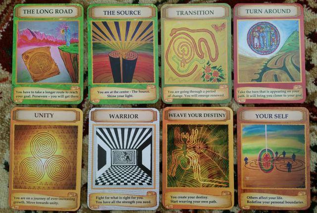 Labryinth Wisdom Cards 08 Cards