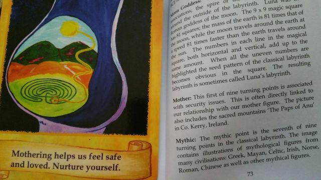 Labryinth Wisdom Cards 16 Mother II