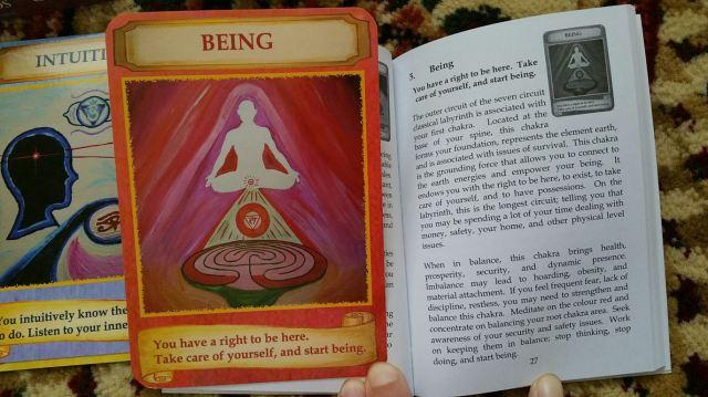 Labryinth Wisdom Cards 18 Being