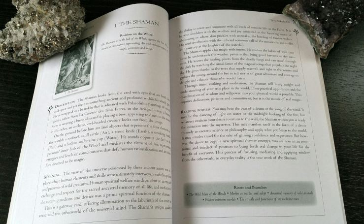 Wildwood Guidebook Shaman Page
