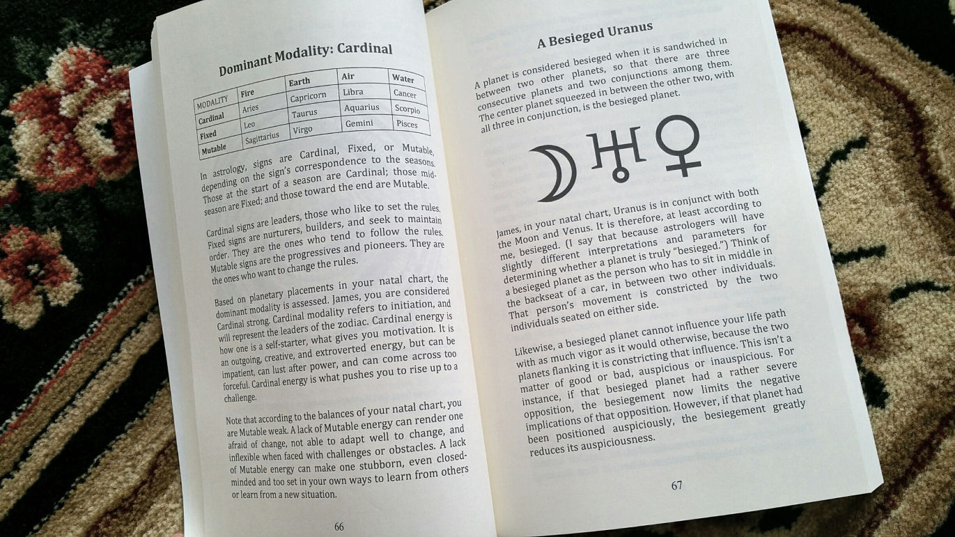 Your birth chart monograph benebell wen astrology birth chart monograph natal 03 nvjuhfo Image collections