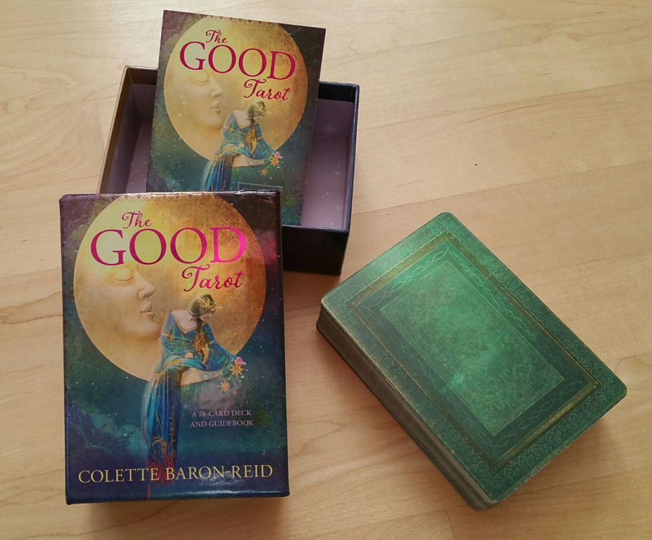 Review Of The Good Tarot By Colette Baron Reid Benebell Wen
