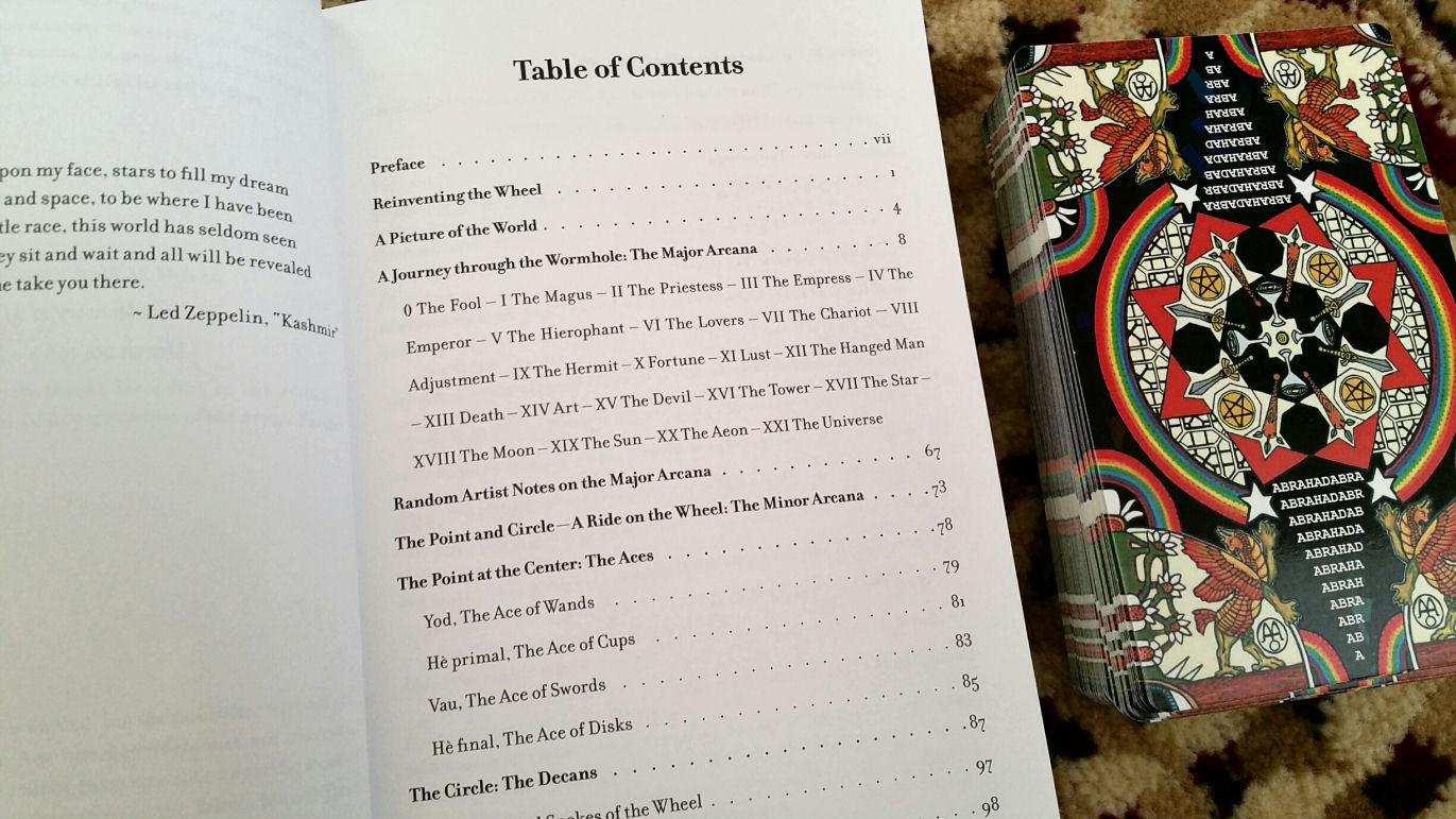 Tabula Mundi Tarot: A Must for Any Metaphysician Tarotist