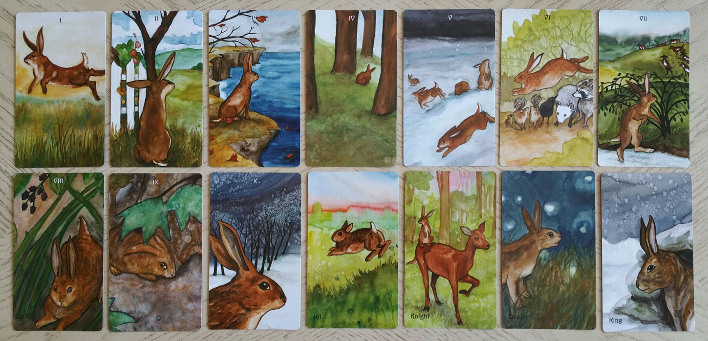 The Badgers Forest Tarot: Animal Lovers Rejoice | benebell wen