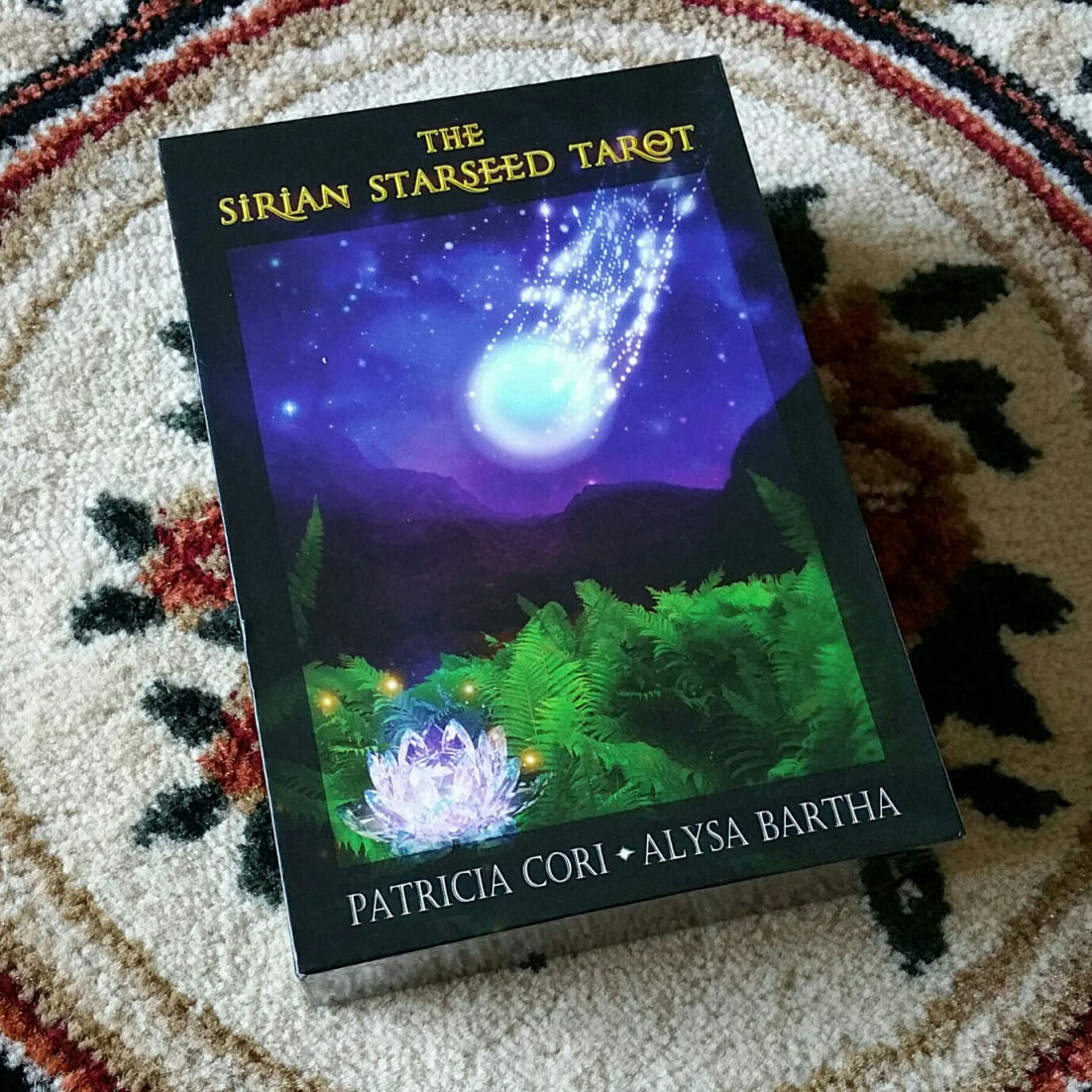 Sirian Starseed Tarot by Patricia Cori and Alysa Bartha