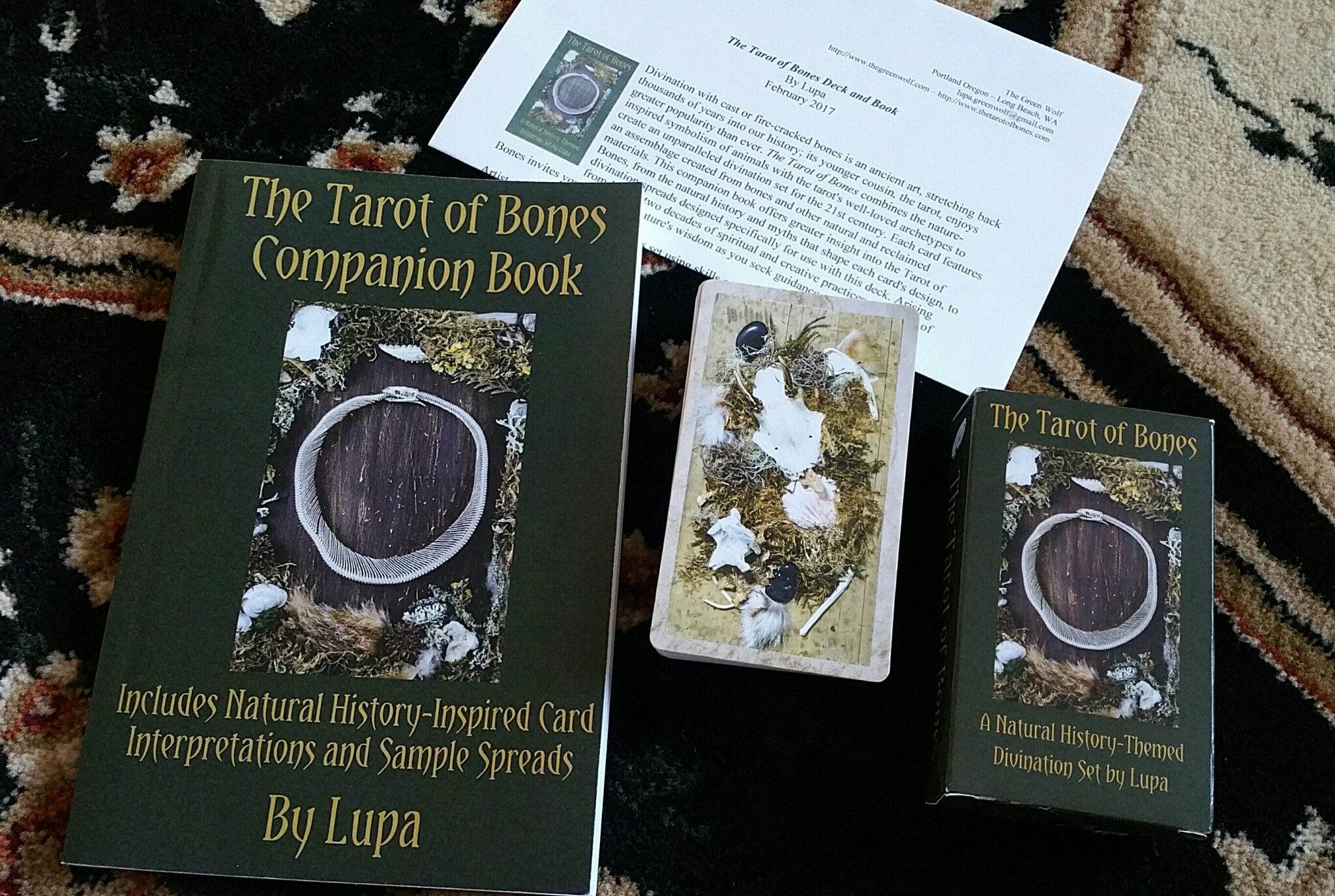 Review of the tarot of bones by lupa benebell wen review of the tarot of bones by lupa fandeluxe Gallery