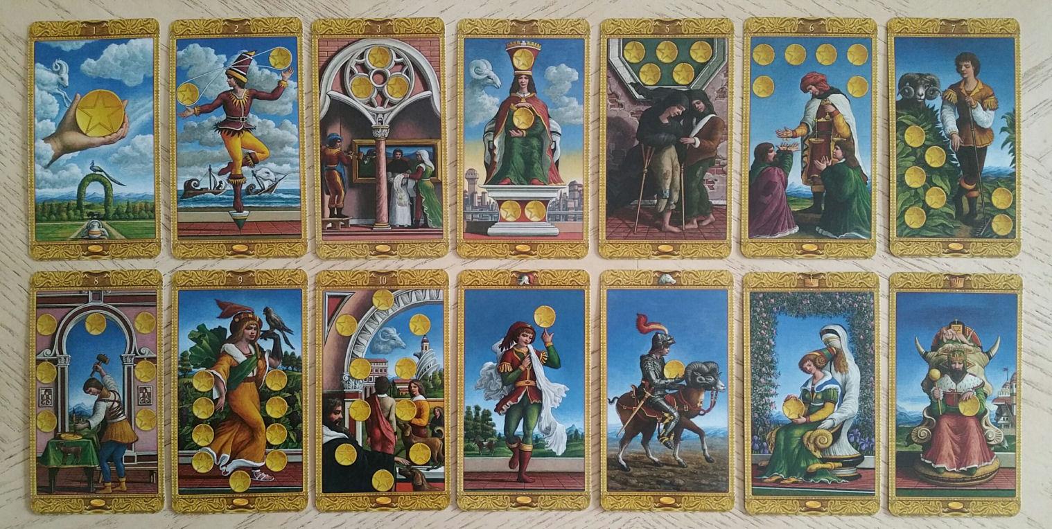 The Mystical Tarot By Giuliano Costa