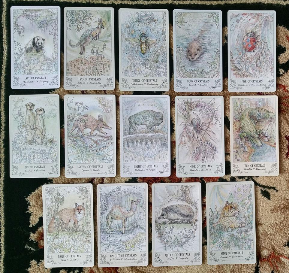 Spiritsong Tarot By Paulina Cassidy Benebell Wen
