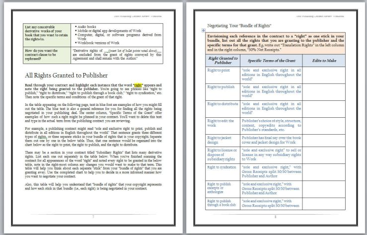 Workbook Screenshot - Workbook Pages 7 and 8