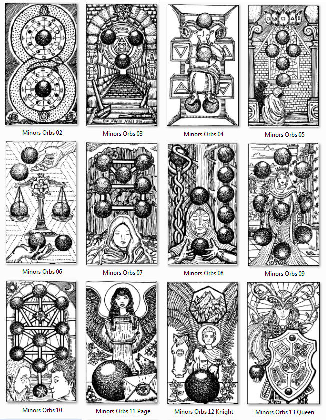 Drawing My Own Tarot Deck: Ruminations On The Court Cards