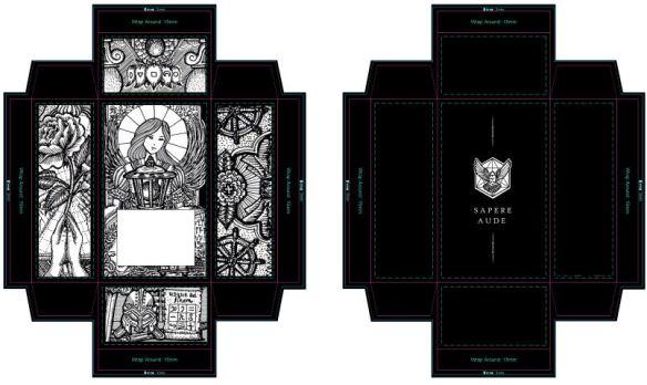 Tarot Box And Packaging Design Diy Benebell Wen