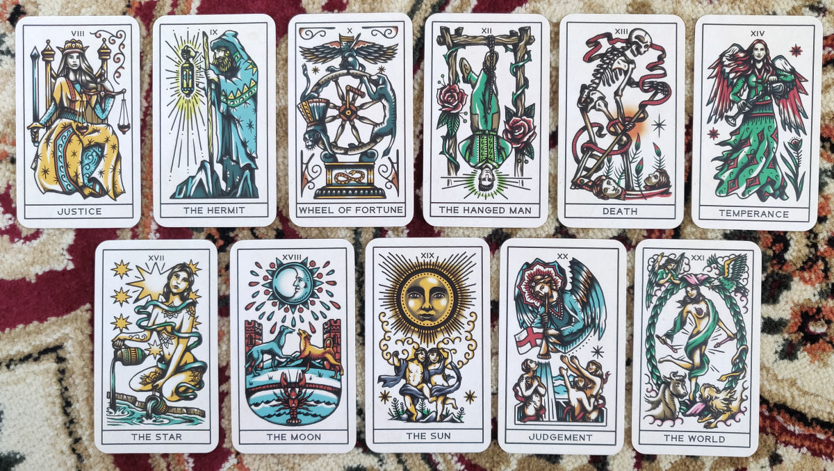 53ffe95be752c Review of the Tattoo Tarot by Megamunden | benebell wen
