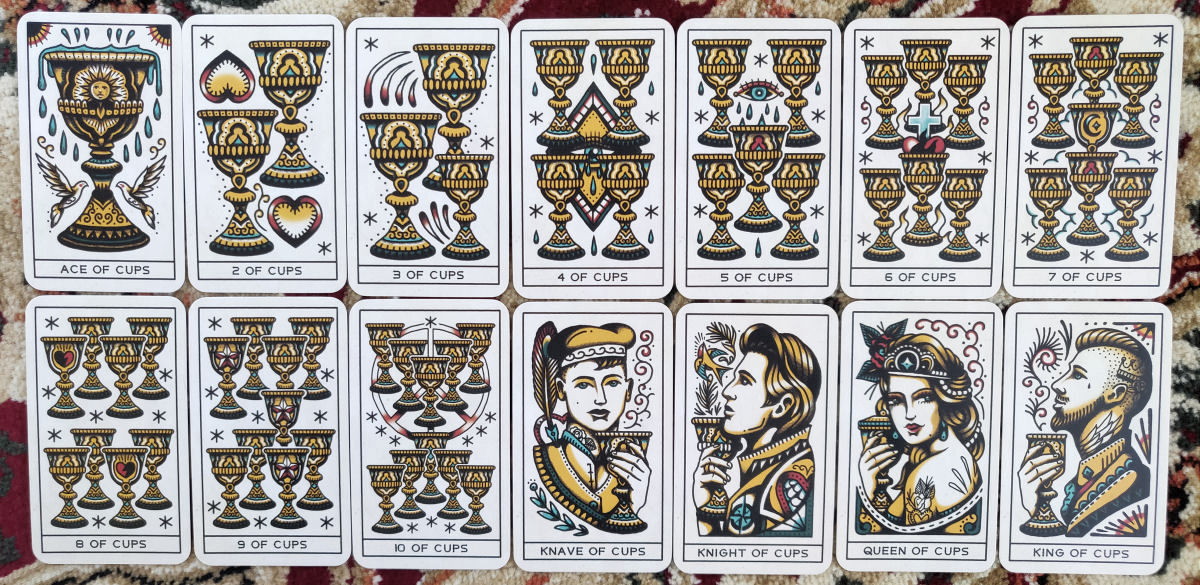 cf41825b0b63b Professional tarot readers are going to love using for their clients. The  cards photograph beautifully, with its matte finish, clean, solid lines, ...