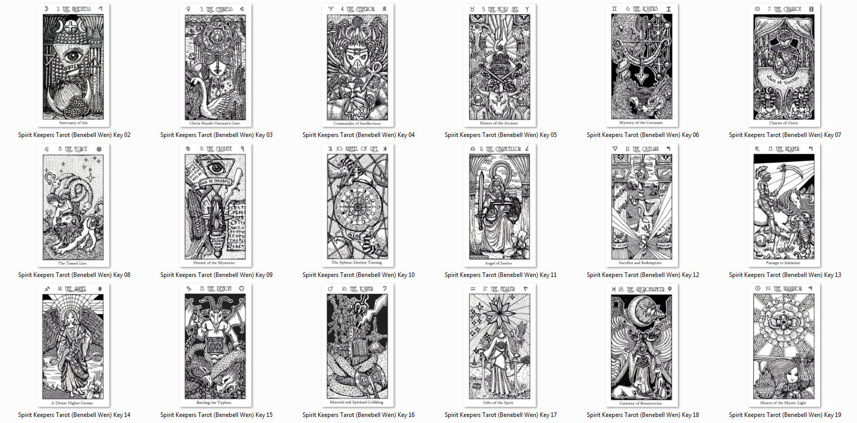 image relating to Printable Tarot Deck identified as Print Your Personalized Tarot Stickers and Notecards benebell wen
