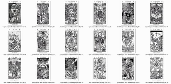 Print Your Own Tarot Stickers And Notecards Benebell Wen