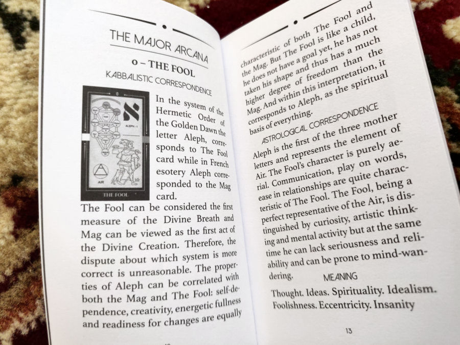 Review of the Kabbalistic Tarot by Eugene Vinitski and