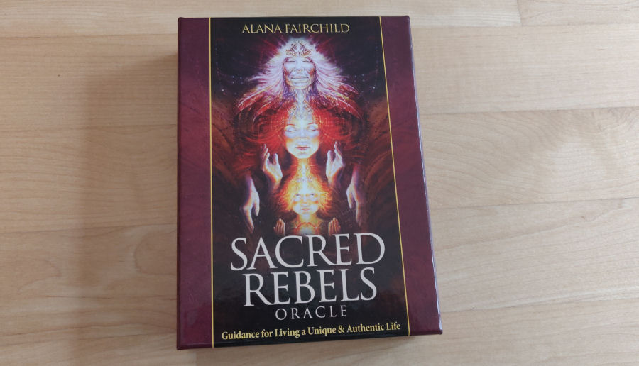 Sacred Rebels Oracle Cards by Alana Fairchild and Autumn