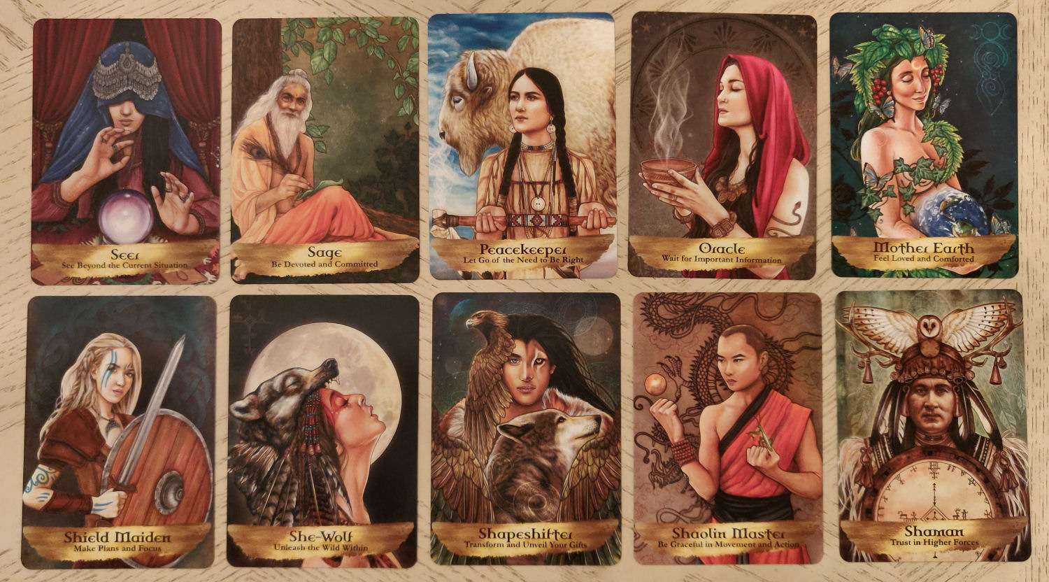 Angels and Ancestors Oracle Cards   benebell wen