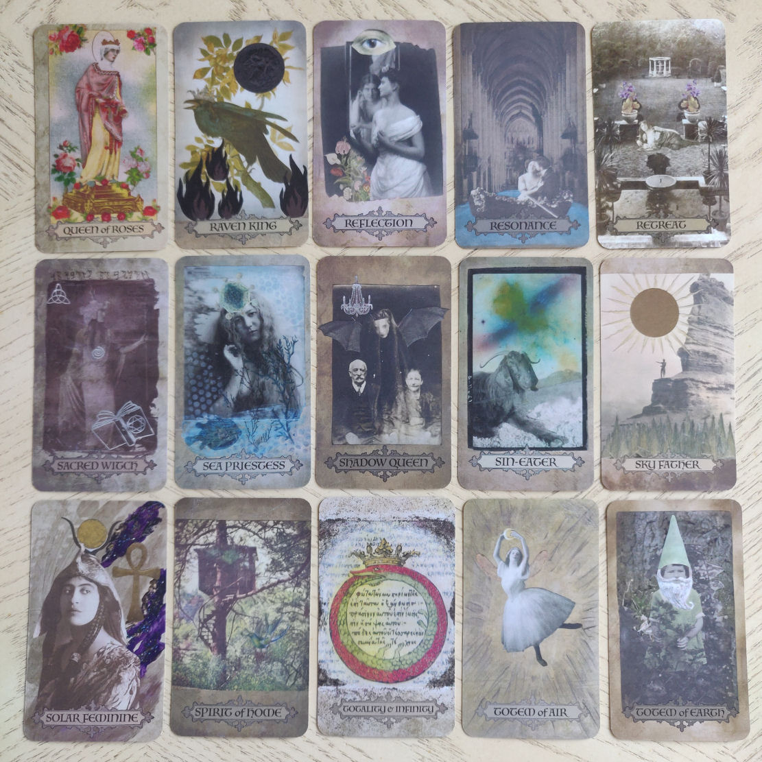 Divine Muses Oracle by Maree Bento   benebell wen